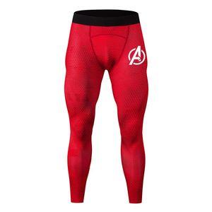 Executando Pants Men Compressão Calças Calças de basquete academia de musculação Corredores Jogging aptidão magro Leggings