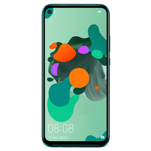 Оригинальный Huawei Нова 5и Pro сотовый телефон 4G по 6 ГБ оперативной памяти 128 Гб ROM Кирин 810 восьмиядерный 6.26 дюймов полный экран 48.0 МП отпечатков пальцев ID мобильный телефон