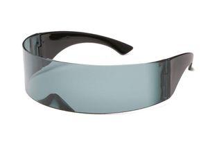 Envoltório Futurista engraçado Ao Redor Monob Máscara óculos de Sol Óculos de Novidade Partido do Dia Das Bruxas Fontes Do Partido Decoração 10 Pares
