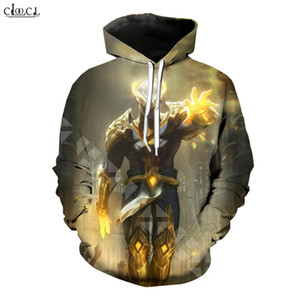 2020 Fashion Game League of Legends Hoodie Men Women 3D Printed Hero Skin Arclight Ahri Hooded Coat Casual Pullovers
