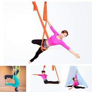 4m 5m 6m 7m Aerial Yoga Hammock Swing Inversion Anti-gravity High Strength Decompression Exercises Hammock Home Gym Hanging Belt