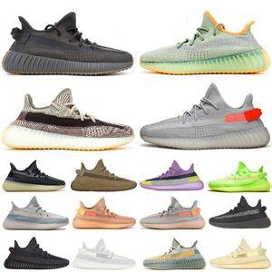 2020 новый Kanye West Asriel задний фонарь Cinder Earth кроссовки zyon мужские женские облачные белые зебры светоотражающие статические кроссовки Кроссовки