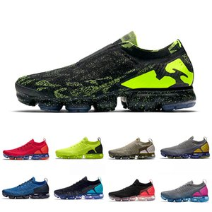 nike air vapormax flyknit 2.0 Laser Orange 2.0 running shoes Zebra man Hot Punch men women Team University Red Neutral Olive Chrome trainer Zebra sports sneakers 36-45