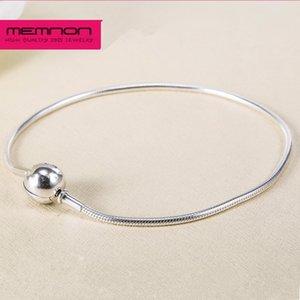 925 Sterling Silver Essence collana dei braccialetti di fascino per le donne di fascini misura piccolo foro Essenza Beads multa gioielli fai da Memnon EYL003