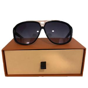 Sıcak erkekler moda tasarımın güneş gözlüğü milyoner kanıt güneş gözlüğü bağbozumu parlak altın yaz tarzı lazer Z0150E en kaliteli Retro