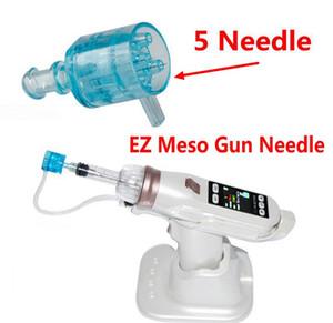 5 игл наконечник картридж отрицательного давления для EZ вакуумной мезотерапии мезо пистолет микроигла система воды мезо инъекции пистолет отбеливание лица