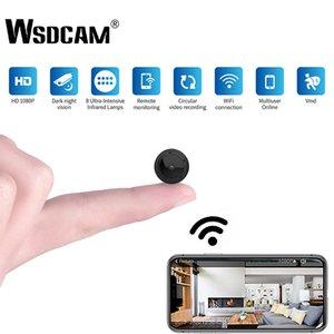 Seguir Videocámaras DVR inalámbrico bebé Detección W10 mini WiFi de la cámara HD 1080P visión nocturna por infrarrojos Inicio cámaras de seguridad IP del movimiento del CCTV