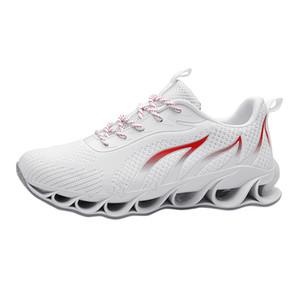 moda casual sagace 2020 nuevos hombres de malla de luz ligera absorción de choque cómodo calzado deportivo transpirable