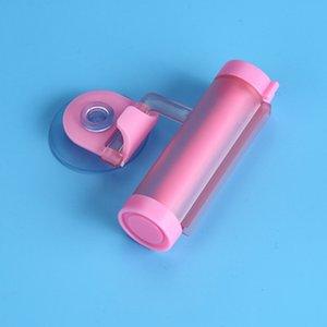 Rolling Enayi Diş Macunu Dispenser Tüpü Banyo Tutucu Diş Kremi Banyo Aksesuarları Manuel Şırınga Tabancası Dağıtıcı