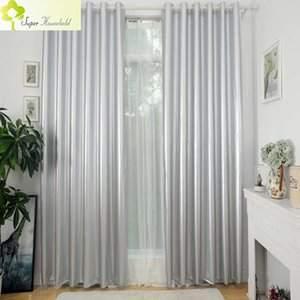 99% Blackout Curtains for the Bedroom Silver Coating Drapes for Living Room Sun Block  Insulation Cheap Curtains Light Weight