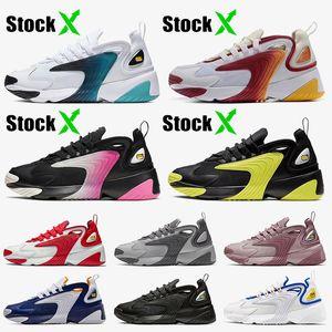 Nike Zoom 2K 2020 Mode m2K Tekno Zoom 2k des femmes des hommes Chaussures de course Blanc Vert Violet Jaune Noir Hot étudiants vente des jeunes formateurs Sneakers hors