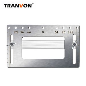 TRANVONAuxiliary ferramenta orifício maçaneta orifício reparação alça de gabinete substituir posicionando artefato