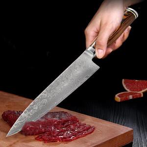 """8"""" pouces Couteaux de cuisine japonais 67 couches Japon VG10 chef Couteau Viande légumes multi Cleaver cuisine outil"""