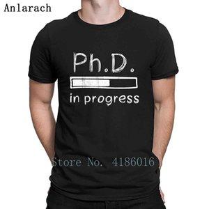 Phd T-shirt phd Loading Bar drôle Progress T-shirt New Style d'été Leisure Design naturel Taille S-5XL T-shirt de remise en forme shirt