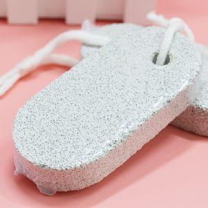 Se alza de doble cara de pulido de piedra del pie de la piel Cuidado de la Herramienta de limpieza de piedra pómez natural Piedras pedicura Exfoliate Herramientas 0 33ch C R