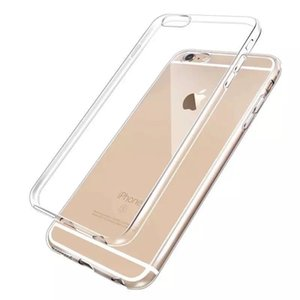 2019 NUOVO Custodia in TPU ultra-sottile per il nuovo iPhone XR XS MAX X 7/8/6 plus Samsung S10 / S9 / S8 Plus S7edge Cover in silicone trasparente completamente trasparente