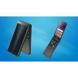 Original Samsung Galaxy Folder2 SM-G1650 4G LTE Android Big Keyboad Dual SIM Flip Phone