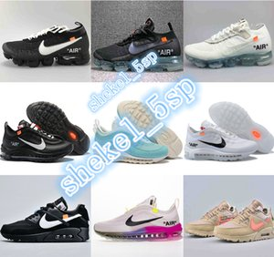 offwhites Classic 90 Essential running shoes Betrue summer air cushion classic 97 ow walking sport Basketball Sneakers Triple outdoor shoes