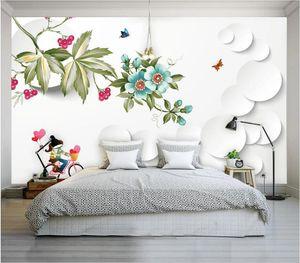 3d wallpaper custom photo mural Modern minimalist stylish living room TV background wallpaper sticker home decor wall art pictures