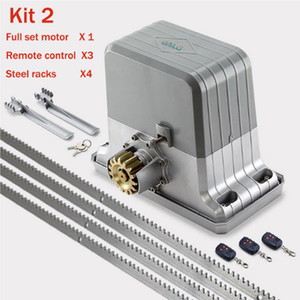 GALO 1,800 kg motores eléctricos portão deslizante / automática do motor de portão com um portão de prateleiras de aço fotocélula 4 de controlo remoto
