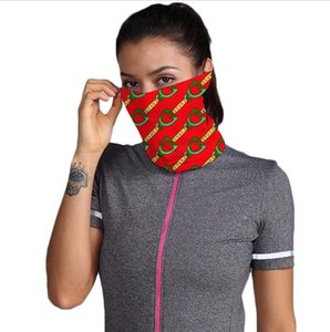 Outdoor Bicycle Cycling Face scarf BandanasDesigner Scarf Headband Neckerchief Handkerchief Cap Sports Head Scarves Half Face