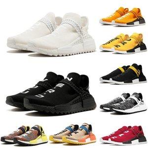 Human Race Herren Schuhe Nerd-Triple Black weiße Creme der menschlichen Spezies Pale Nude Nobel Ink Rot Weiß Sport-Designer-Schuhe 36-45