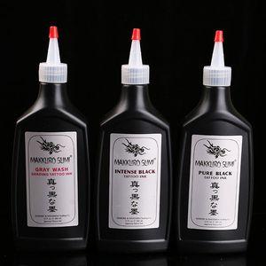 360ml Permanent Makeup Pigments Tattoo Ink Pigment Set Kits Body Arts Black Professinal Beauty Permanent Makesup Paints