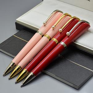 진주 모자와 최고 높은 품질 뮤즈 마릴린 먼로 서명 펜 고급 메탈 볼펜 롤러 볼 펜 쓰기 사무실 학교 용품