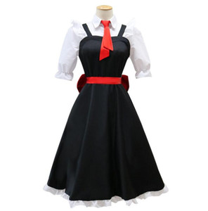 2019 Miss Kobayashi Dragon Maid Tohru Cosplay Costume for Women Kobayashi san Chi no Maid Uniforms Costume