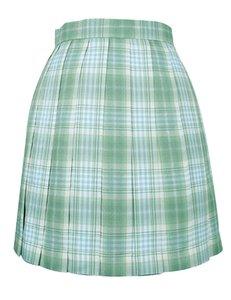 2020 Modest Plaid Skirt Homecoming Dress Uniform Skirts High Waist Pleated Skirt New High School Girl Female Cute Mini JK04AQ