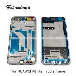 10PCS Pour Huawei Lite 2017 avant P8 Logement Ecran LCD Chassis Plate Bezel Faceplate Cadre Pièces de rechange (Non LCD)
