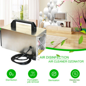 ATWFS Generador de ozono 24g Limpiador ozonizador purificador de aire ozonizador Aire Ozono Desinfección Esterilización formaldehído 220V
