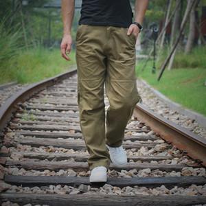 Plus Size 40 Cotton Cargo Pants with Multi Zipper Pocket Tactical Style Cargo Pants Men Loose Fit Men Casual