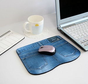 Hot Sale 225*170*5mm Fashion Chic Jeans Style Gaming Mouse Pad Mat for PC Laptop