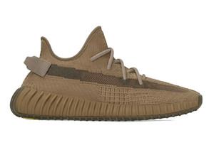 2020 zapatos de diseño mejor a la Tierra Yeezreel no reflectante con los zapatos corrientes de caja y Stockx Kanye West Yecheil Hombres almacenar la entrega gratuita