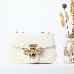 nuova borsa a tracolla progettista nuova borsa a mano del progettista femminile 2020 del sacchetto di spalla di lusso selvaggio spalla obliqua ins catena di super-fuoco