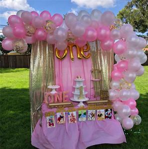 il giorno di San Valentino CUTE di Compleanno Set Wedding Balloons Festival feste palloncini decorazione delle ragazze dei capretti Regali 124pcs / set E32502