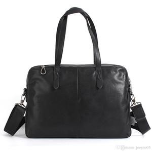 Modetrend pflanzlich gegerbtes Leder Herren-Freizeithandtasche Querschnitt Leder Wildleder Aktentasche mit großer Kapazität jooyoo