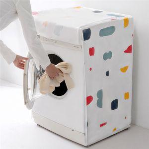 Inicio pulsador de rodillos de lavado a prueba de agua de la máquina Conjuntos de toda pulsador Campana - Incluido polvo cubierta del paño automático de protección solar