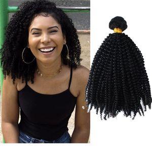 아프리카 곱슬 머리 묶음 레미머 huriverhair weaves weft kinky 컬 염색형 자연색 haircextensions