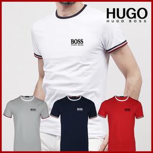 2019 Yaz Erkek Tasarımcı T Shirt Moda Erkek Giyim Rahat Yuvarlak boyun T Gömlek Erkekler Lüks Gömlek