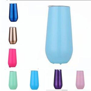 Vacuum Bottle Cup Moda Água de café Coke Champagne Caneca de isolamento térmico Cups policromático Copo Com Seal Lid Moda Copos WY84Q