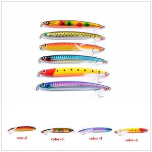새로운 소금 Pro Minnow 플로팅 저크 베이트 14.4g 10cm Lipless baitfish 연필 swimbaits 제물 낚시 미끼