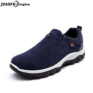 2018 Primavera New Rebanho deslizamento-em sapatas Men Walking Casual sapatos confortáveis Masculino calçado Sapatos Homem Flats Verão