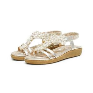 2020 yeni yaz New süper yangın kişilik vahşi bohem bayan sandaletleri plaj bayan düz ayakkabı Geniş olmayan slip