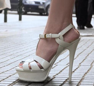 Schwarze Katze Ferse, Echt Lackleder High Heel, Sexysluper High Heel, flache spitze neue Mode Damen einzelne Schuhe Größe 35-40