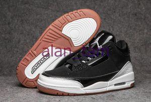 Stok Katrina Knicks 3M Yansıtıcı Eğitmenler Sneakers rakipleri Hayvan paketi Retro 3s Siyah Çimento Tinker UNC 3 Jumpman III Basketbol Ayakkabı x