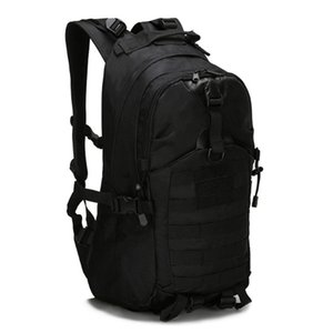 1000D Oxford Cloth Outdoor Backpack 3D Sport Backpack Bag Travel Trekking Rucksack Camping Hiking Camouflage Outdoor Bag,Black