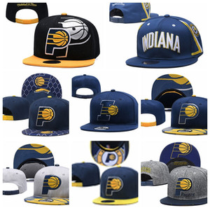IndianaPacersMen Sport Caps MEN WOMEN YOUTH IND 2020 Tip-Off Series 9FIFTY Adjustable Snapback Basketball Hat Blue