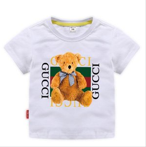 2019 New Designer Brand 2-8T Anni Baby Boys Girls T-Shirt Estate Camicie Top Tees Camicie per bambini Abbigliamento